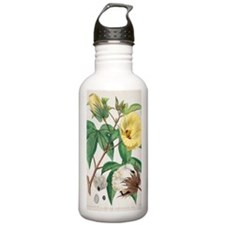 Pima cotton flowers, 1 Water Bottle