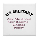 Military design Tile Coaster