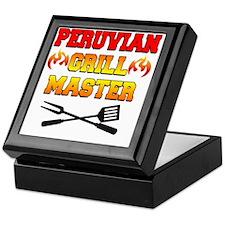 Peruvian Grill Master Apron Keepsake Box