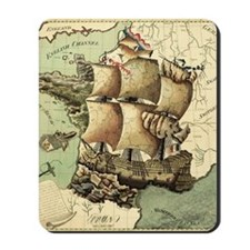 Ancient Map Mousepad