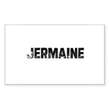 Jermaine Rectangle Decal