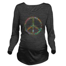 Peace Zen! Long Sleeve Maternity T-Shirt
