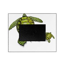 SWIM WITH SEA TURTLES Picture Frame