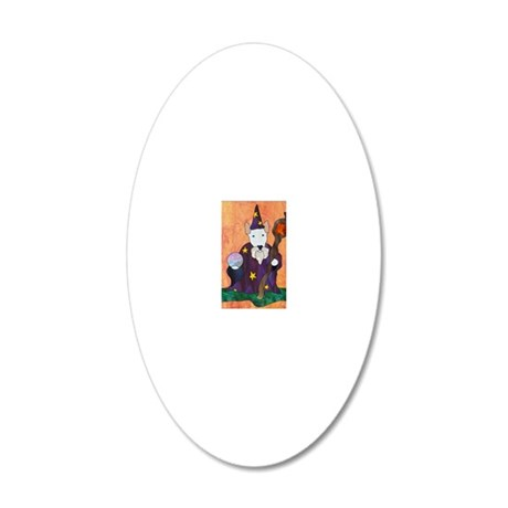 Bully Wizard 20x12 Oval Wall Decal