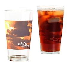 sailors warning Drinking Glass