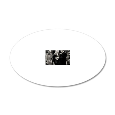 12 20x12 Oval Wall Decal