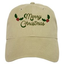 Merry Christmas Baseball Cap