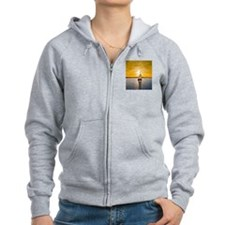 Sailing into the sunset Zip Hoodie