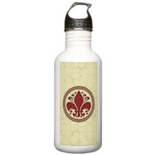 fleur-antique-red-PHN Water Bottle