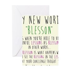 blesson Greeting Card