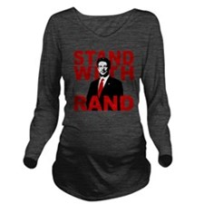 Stand With Rand Long Sleeve Maternity T-Shirt