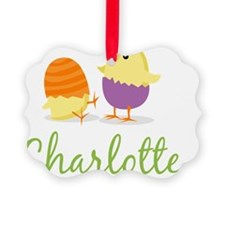 Easter Chick Charlotte Ornament