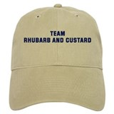 Team RHUBARB AND CUSTARD Baseball Cap