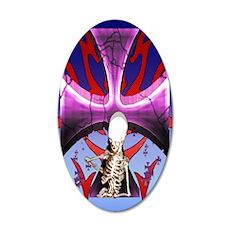 SkullCross13iPad2_Cover 35x21 Oval Wall Decal