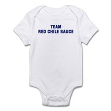 Team RED CHILE SAUCE Infant Bodysuit