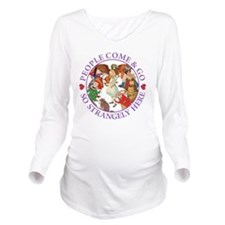 ALICE_people come an Long Sleeve Maternity T-Shirt