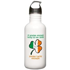 Lucky enough to be Iri Water Bottle
