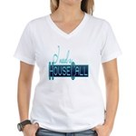 house call Women's V-Neck T-Shirt