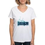 house call Women's V-Neck T-Shirt