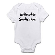 Addicted to Swedish Food Infant Bodysuit