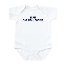 Team OAT MEAL COOKIE Infant Bodysuit