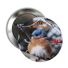 "Bluebird 2.25"" Button"