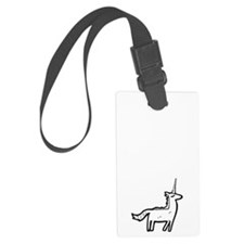 I dont believe in humans Luggage Tag