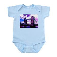 london tower bridge effect Body Suit