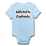 Addicted to Condiments Infant Bodysuit