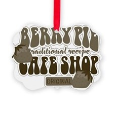 Berry Pie Shop Vintage Signs Ornament