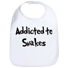 Addicted to Snakes Bib