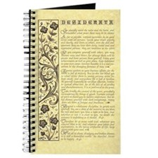 maize stone calli parchment desiderata Journal