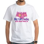 Big girl panties insanity wear t shirts and gifts for T shirt and panties