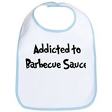 Addicted to Barbecue Sauce Bib