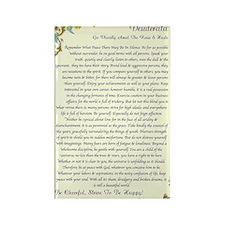 florentine medicea desiderata   Rectangle Magnet