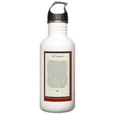 The Desiderata Poem by Sports Water Bottle