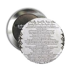 "The Desiderata Poem by Max Ehrmann 2.25"" Button"