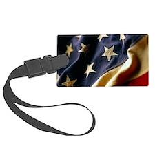 USA Patriotic Luggage Tag