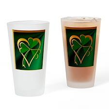 I Love St. Patricks Drinking Glass