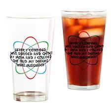 Leonards Rap Song Drinking Glass