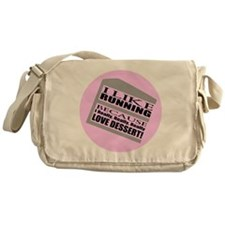 Running I Love Dessert Messenger Bag