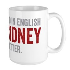 Mary Sidney said it better (red) Mug