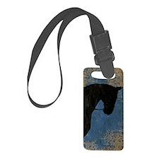 Dressage Horse Luggage Tag