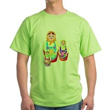 Russian Matryoshka Nesting Dolls T-Shirt