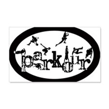 Parkour Wall Decal