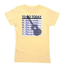 To Do Today - Play Ukulele Girl's Tee