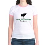 Women's Ringer Moose T-Shirt