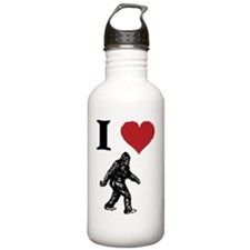 I LOVE SASQUATCH BIGFO Water Bottle