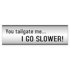 Tailgaiting Bumper Car Sticker
