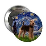 Starry Night - Airedale #6 2.25